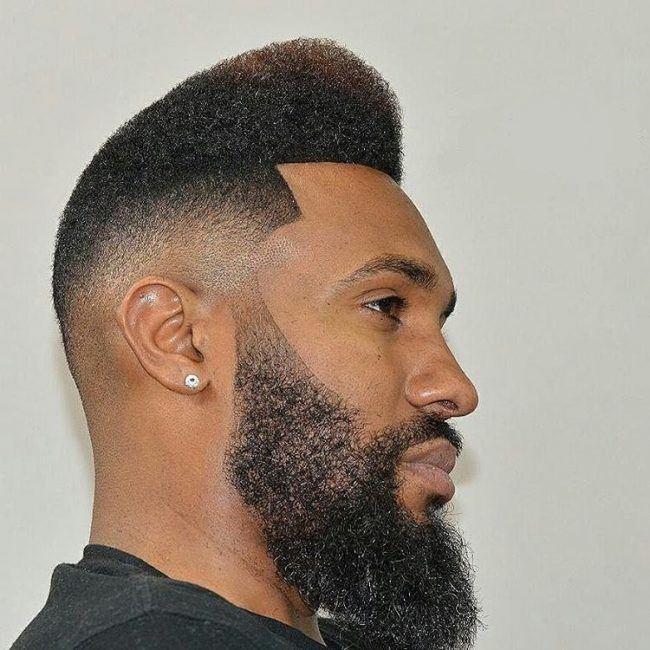 High Front with a Tapered Slope
