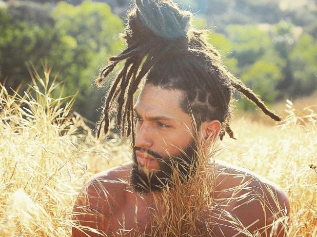 Hot Topknot with Dreads