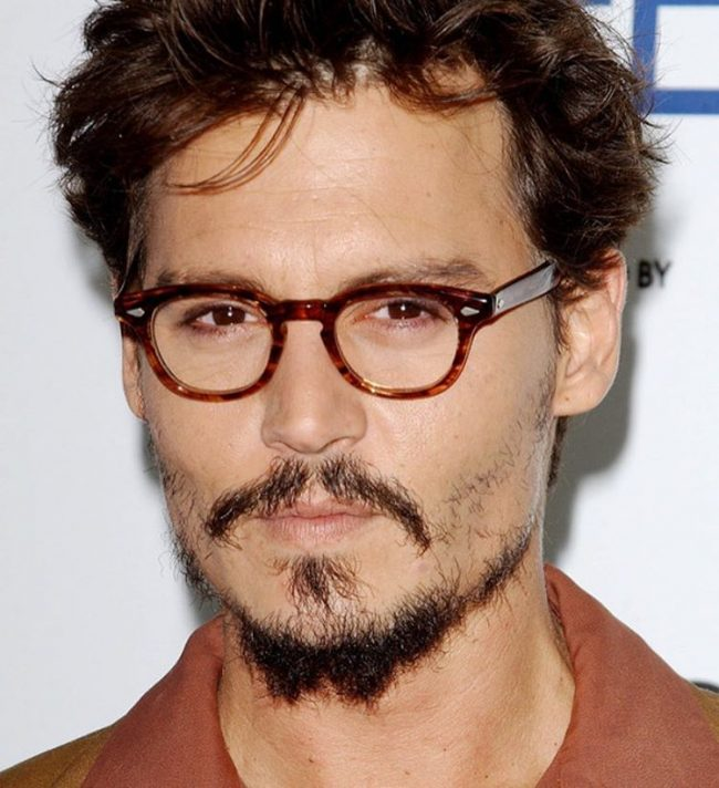 Johnny Depp Adds Drama with a Rustic Beard