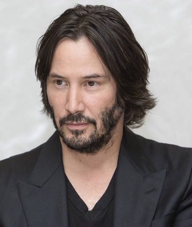 Keanu's Patchy Beard is Killer