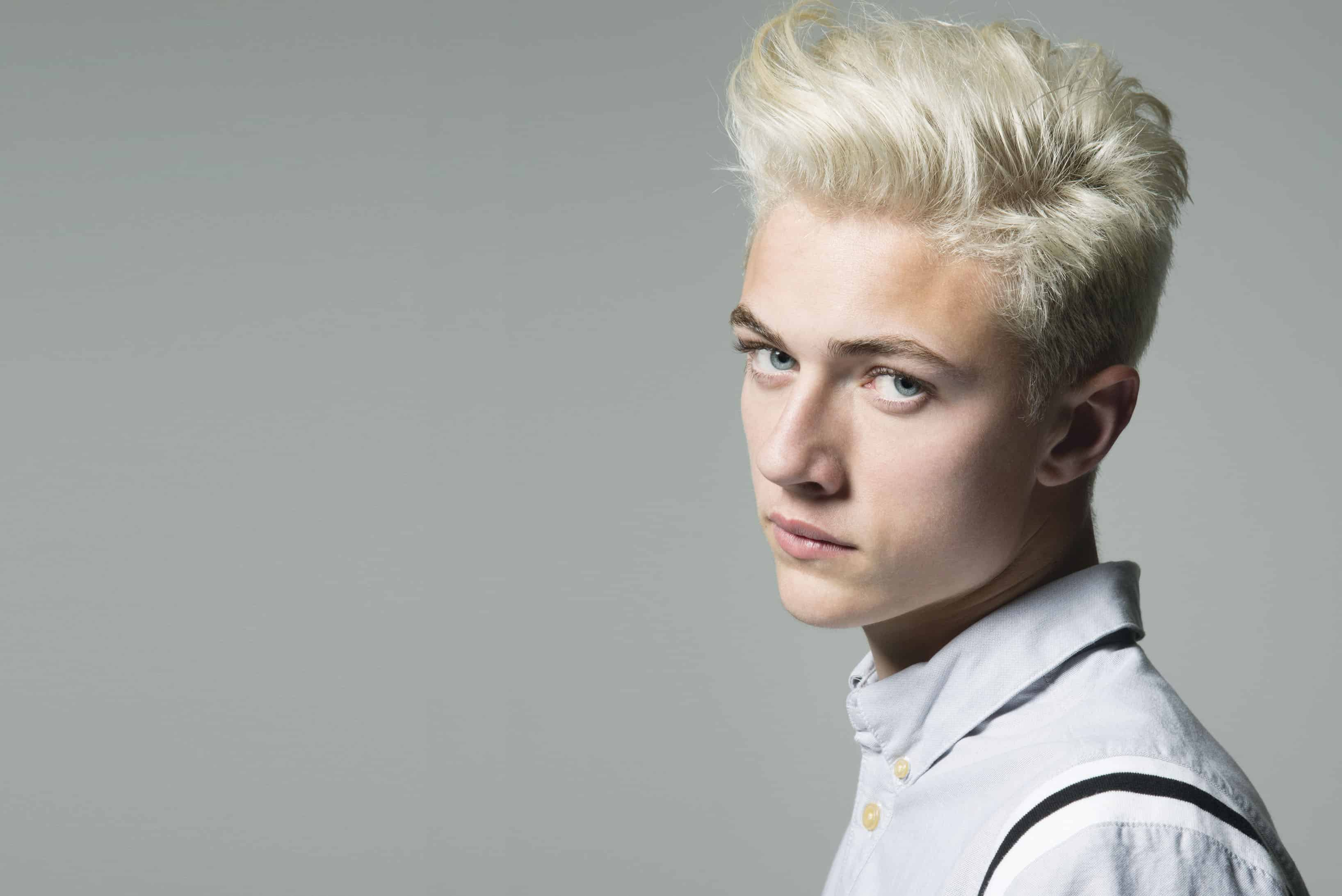 Hair Bleach For Men : 55 Stunning Bleached Hair for Men - How to Care at Home