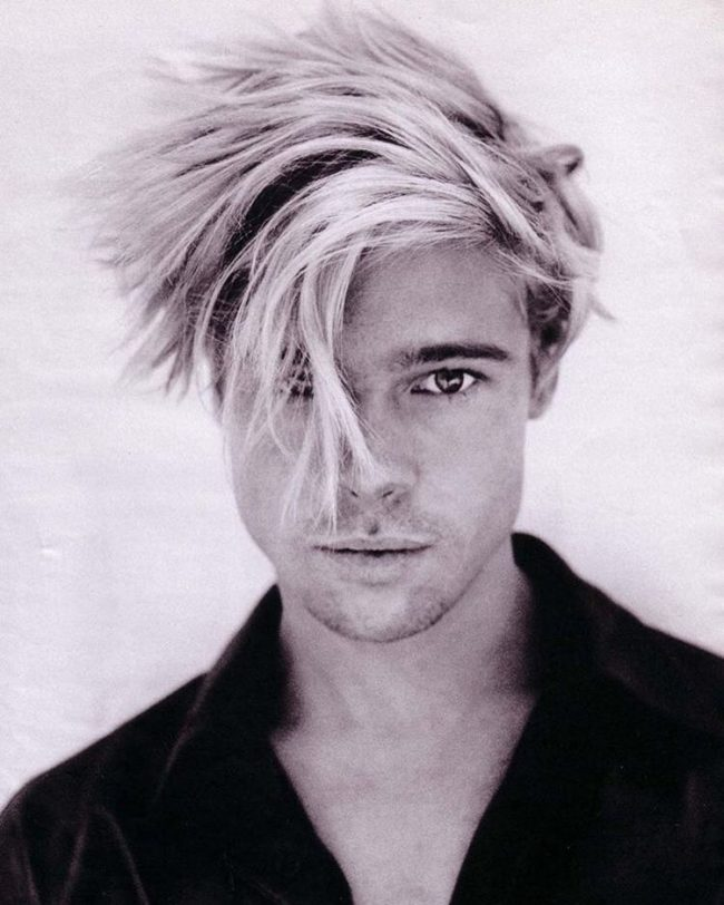 Messy Blonde Hair for Brad