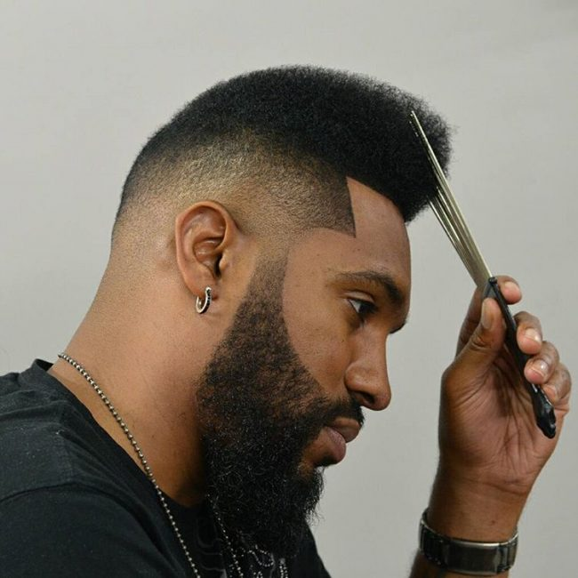Afro Fade Haircut Pictures - Haircuts Models Ideas - photo #48