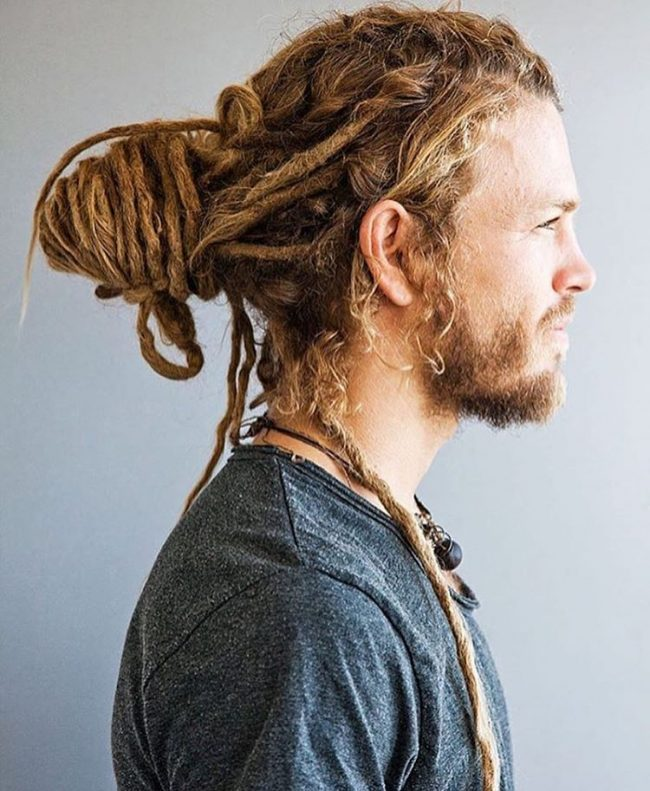 65 Amazing Man Bun Hairstyles You Should Try It In 2018