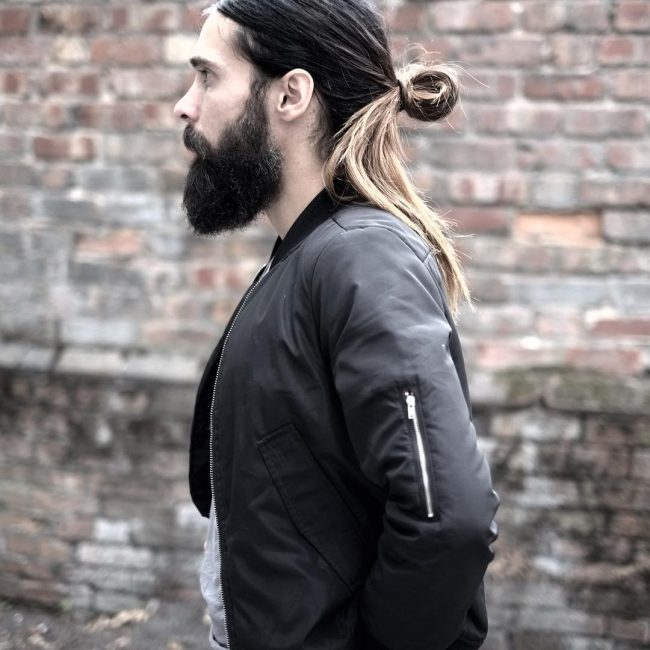 50 Popular Men S Ponytail Hairstyles Be Different In 2019