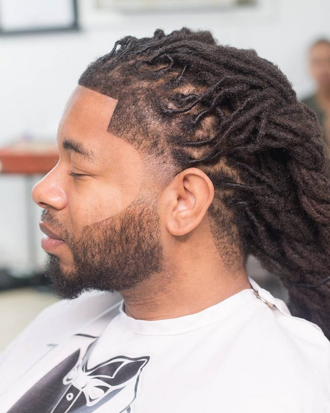 Precise Angles and Fade for Dreads