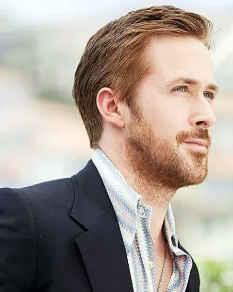 Ryan Gosling In Sleek Sorrel