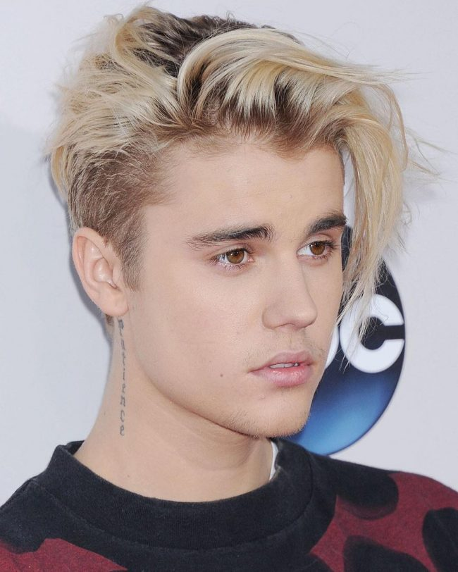 50 Best Justin Bieber Platinum Blonde Hairstyles 2018
