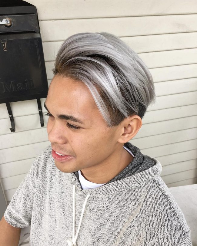 Smoky Gray Ombre