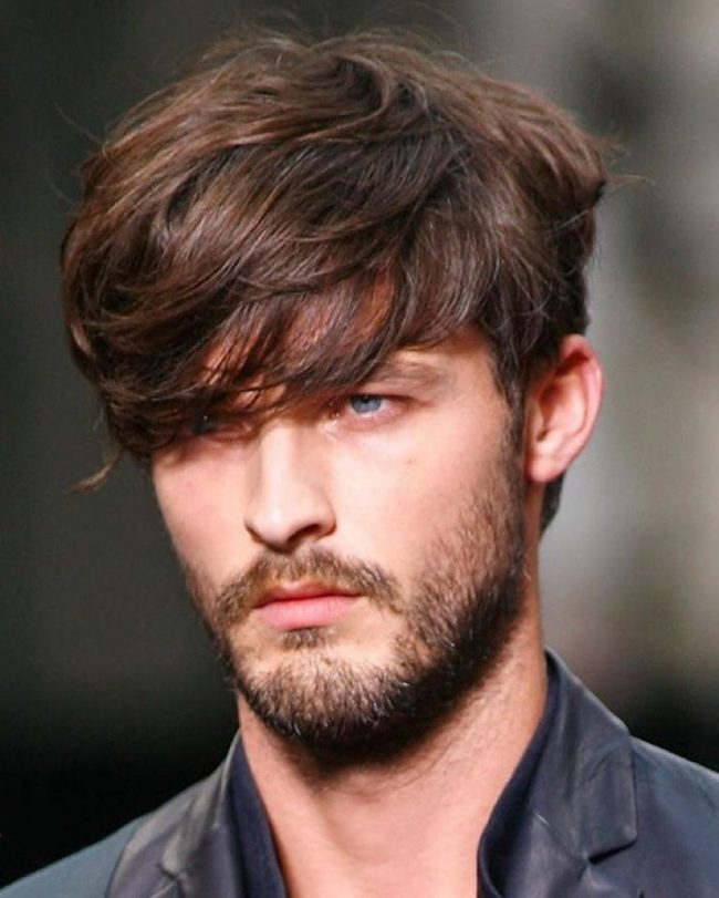 Suave Asymmetrical Style