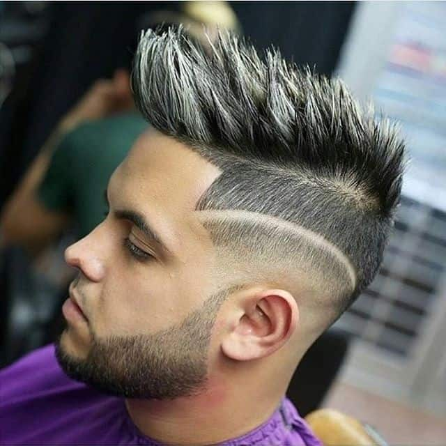Subtle Spikes with Fade and Hard part