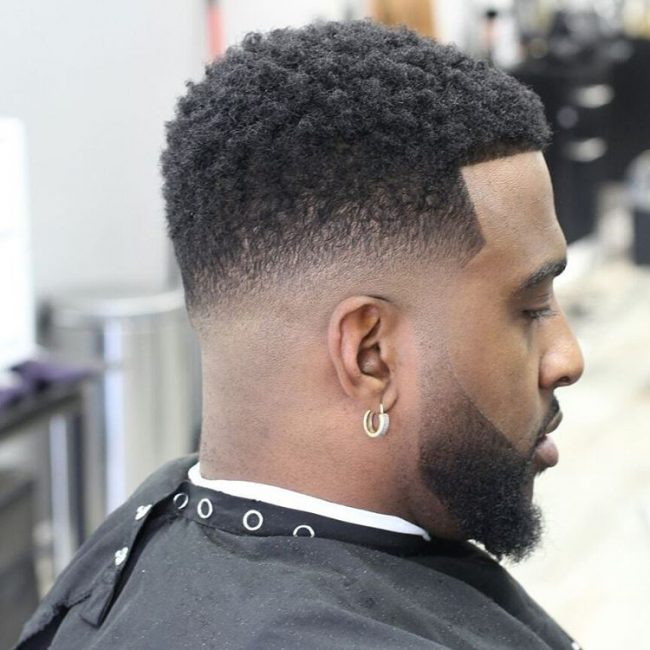 Marvelous Taper Fade Afro Haircuts 56
