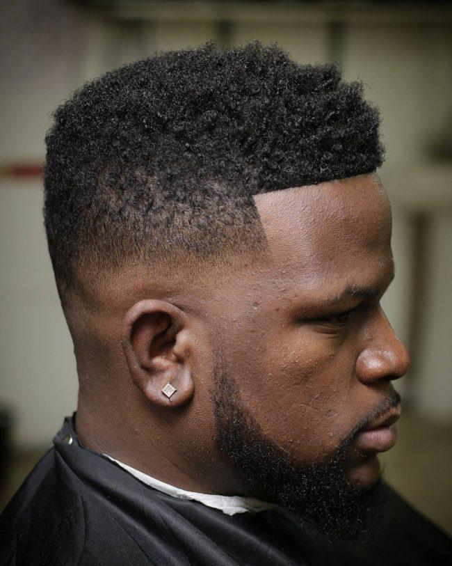 Taper Fade Afro Haircuts 61