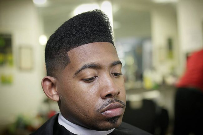 Taper Fade Afro Haircuts 64