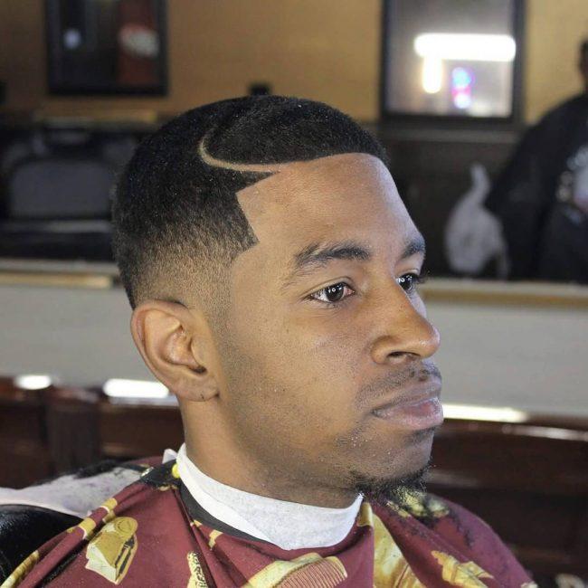 Taper Fade Afro Haircuts 68