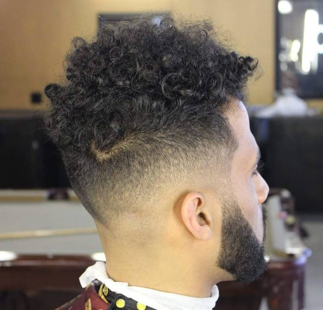 Taper Fade Afro Haircuts 69