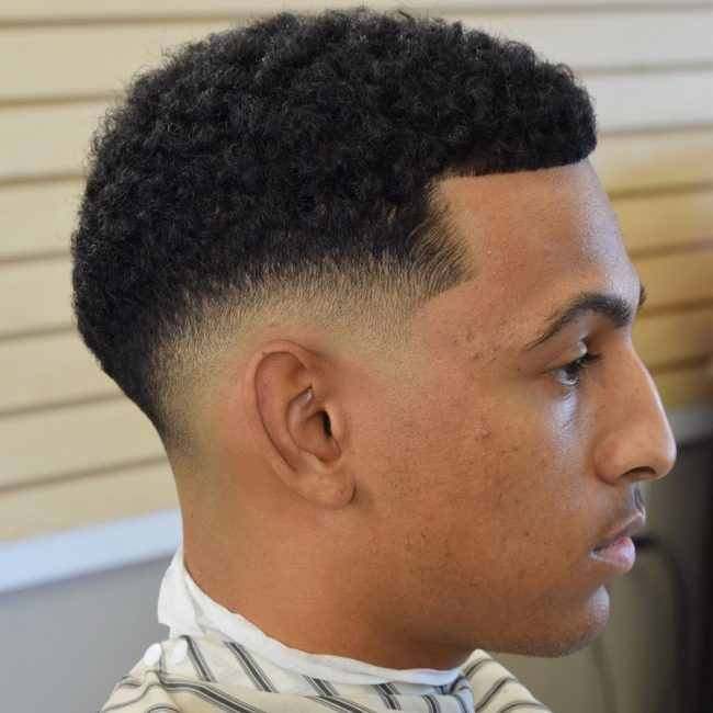 Taper Fade With Afro Www Pixshark Com Images Galleries