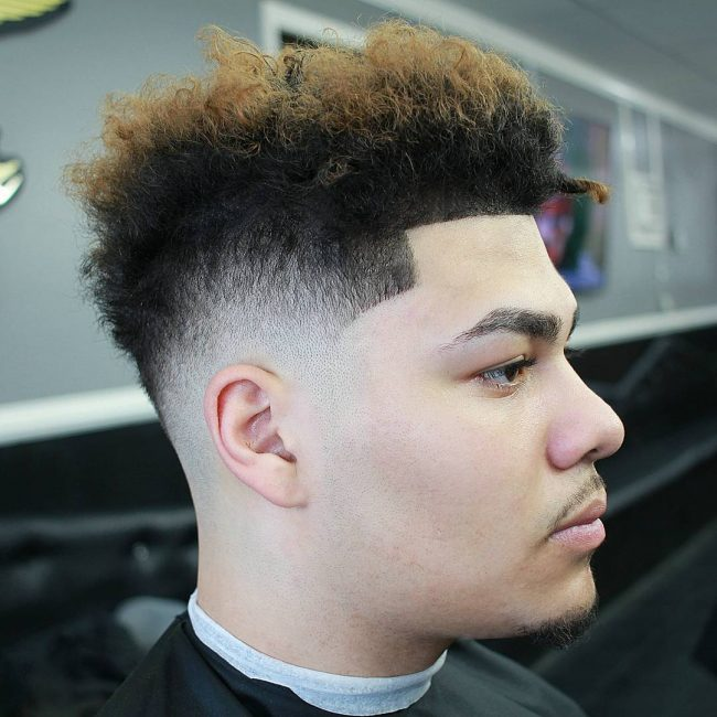 Taper Fade Afro Haircuts 80