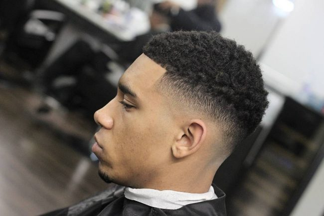 Taper Fade Afro Haircuts 89