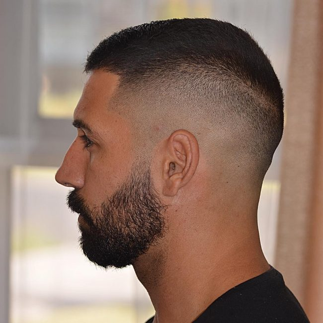 Textured Low Fade