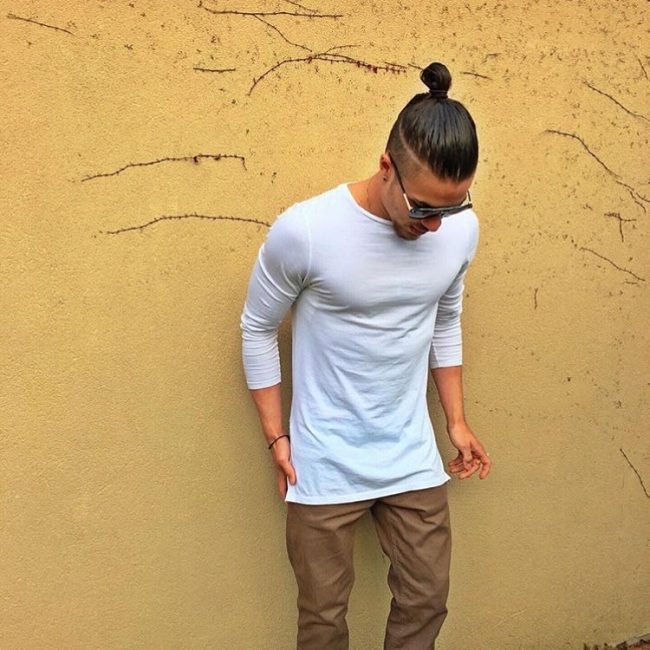 Top Knot Hairstyles 37