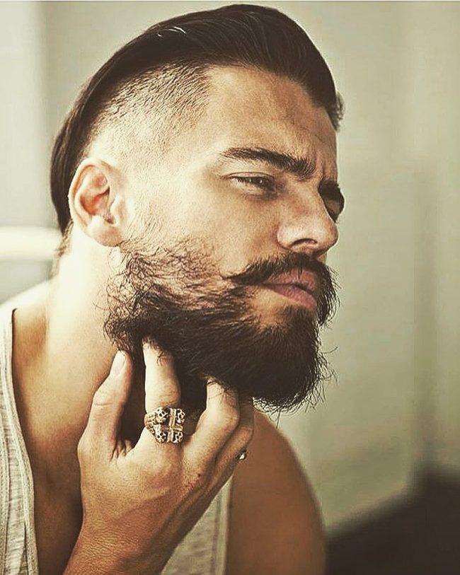 5 easy steps to achieve the perfect beard neckline 2017 beard neckline 6 urmus Choice Image