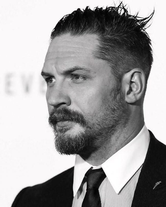 Astonishing 20 Fascinating Tom Hardy39S Beard Styles Dreadful Daredevil Short Hairstyles For Black Women Fulllsitofus