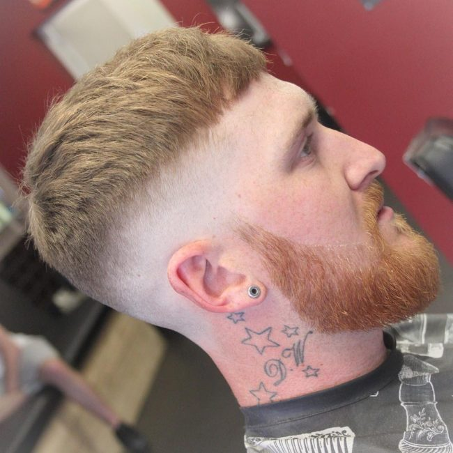 Bald Fade Cropped Hair