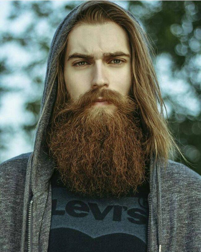 Blonde Beard 45