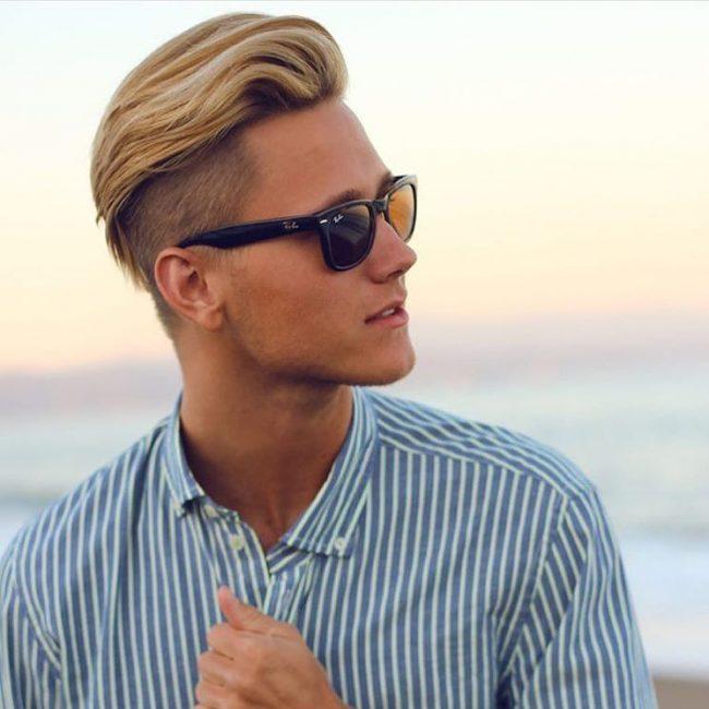 Blonde Sleek Top