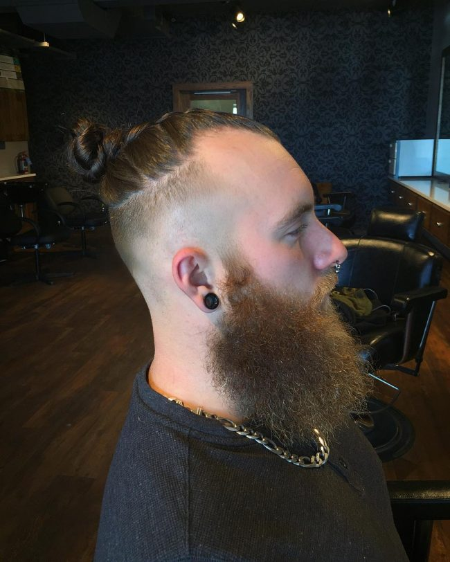 Braided Buns for Men 31