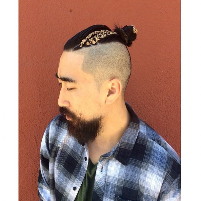 Braided Buns for Men 36