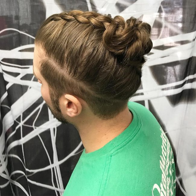 Braided Buns for Men 39