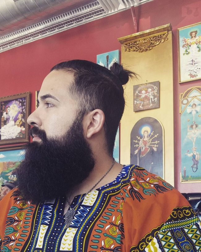Bushy Sexy Beard