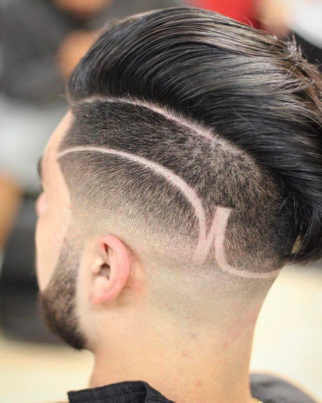 Comb Over Fade 47