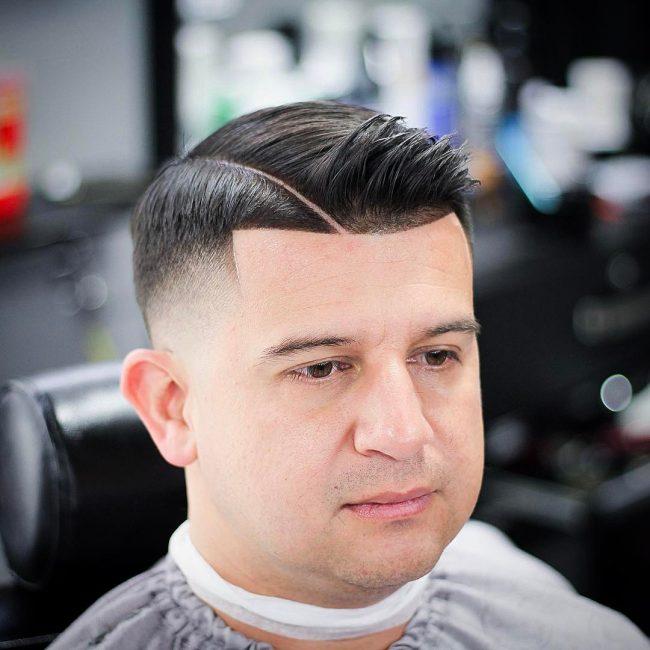 Comb Over Fade 48