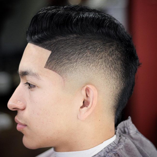 Comb Over Fade 54