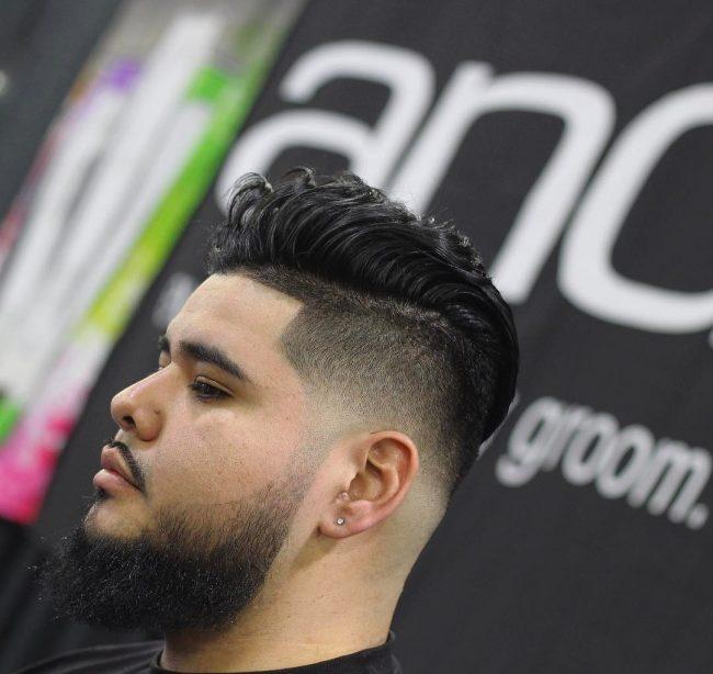 Comb Over Fade 55