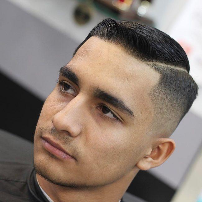 Comb Over Fade 58