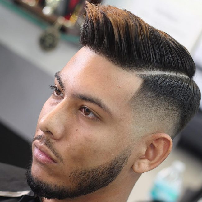 Comb Over Fade 63