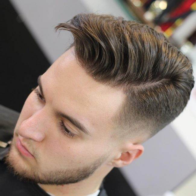 Comb Over Fade 64