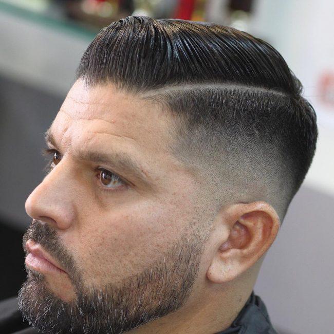 Comb Over Fade 66