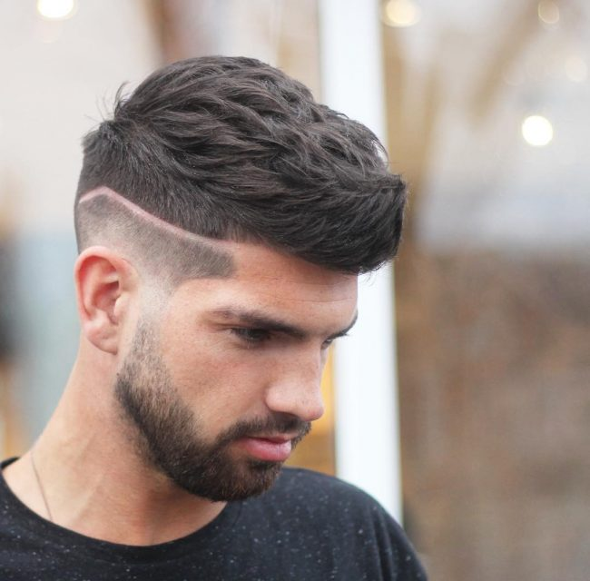 Cool Fade and Voluminous Front Sweep