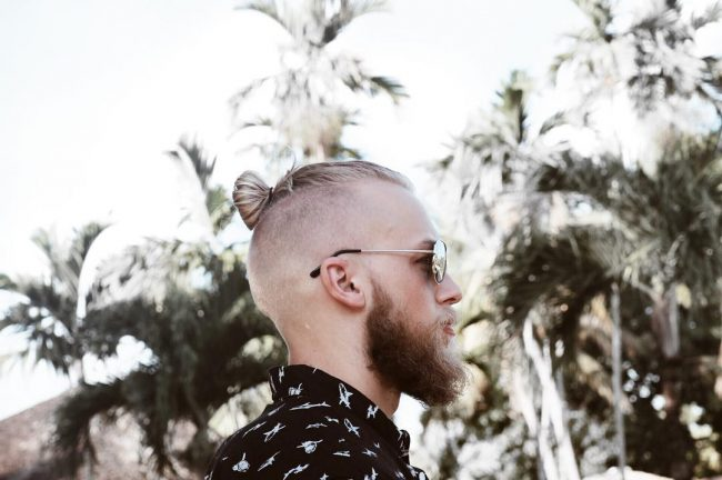 Donut Bun with Disconnected Beards