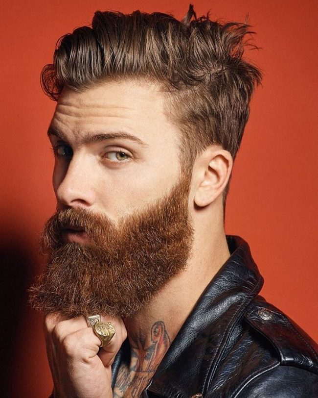 Handsome Full Beard