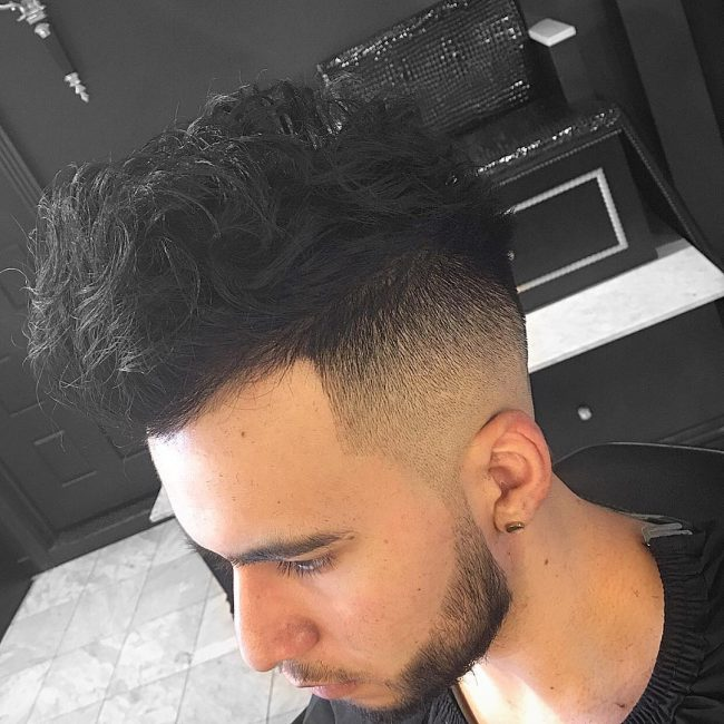 High and Wavy with Excellent Fade