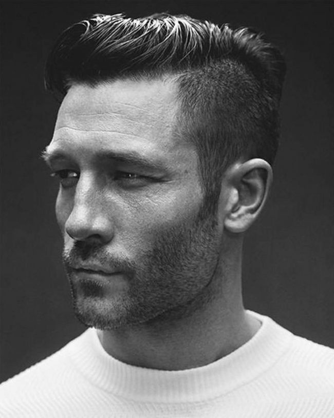 Hipster hair with Tapered Sides