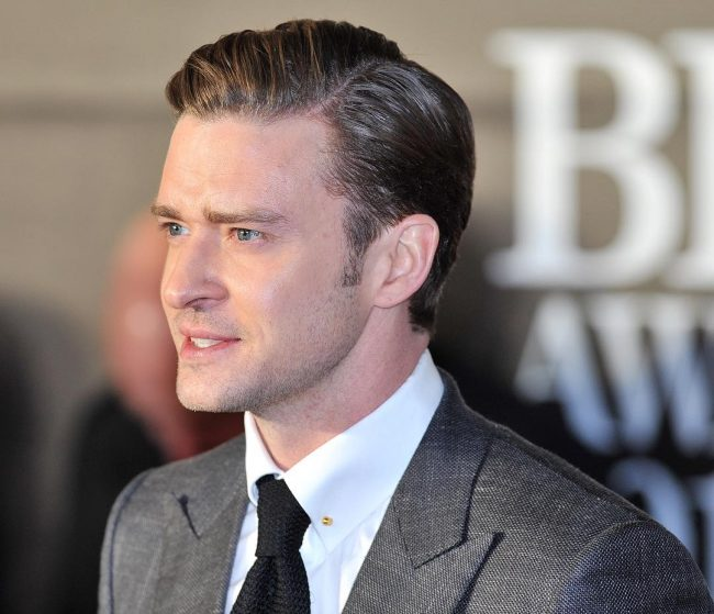 Justin Timberlake Undercut Haircut