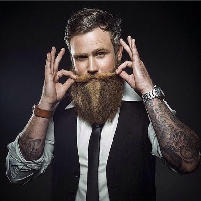 Manly Moustache
