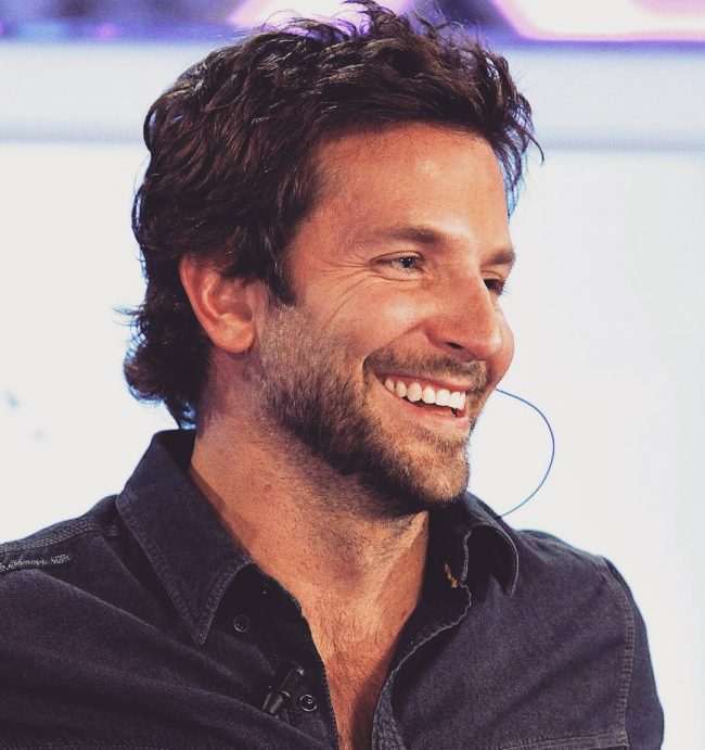 3 Messy Voluminous Bangs - 40 Heartwarming Bradley Cooper Hairstyles - (2017 Ideas)
